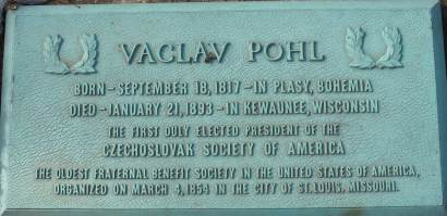 Pohl plaque
